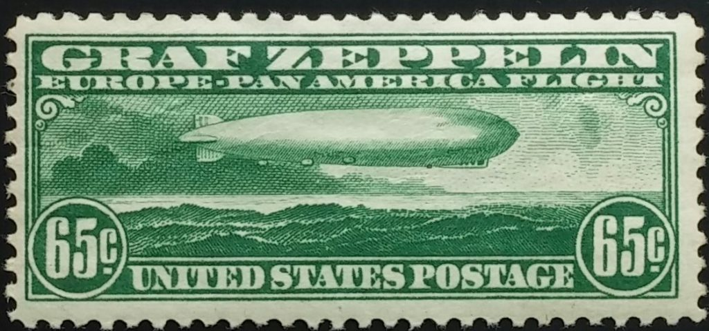 Graf Zeppelin Stamp, Scott #C13