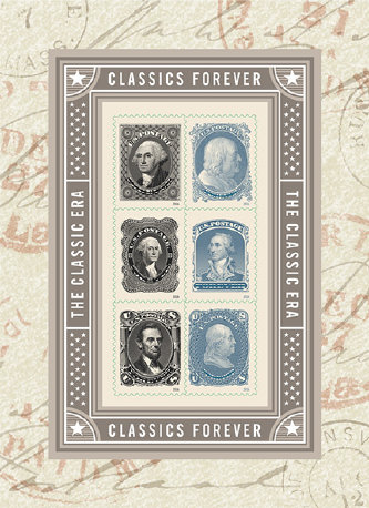"The new ""Classics Forever"" stamps"