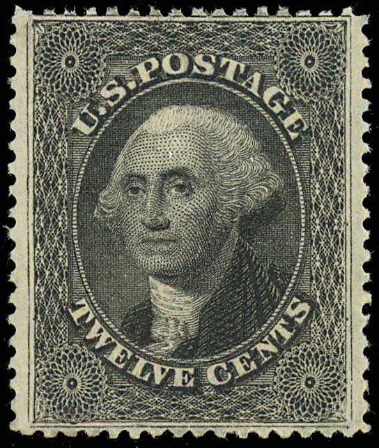 Original 12 Cent Washington Stamp