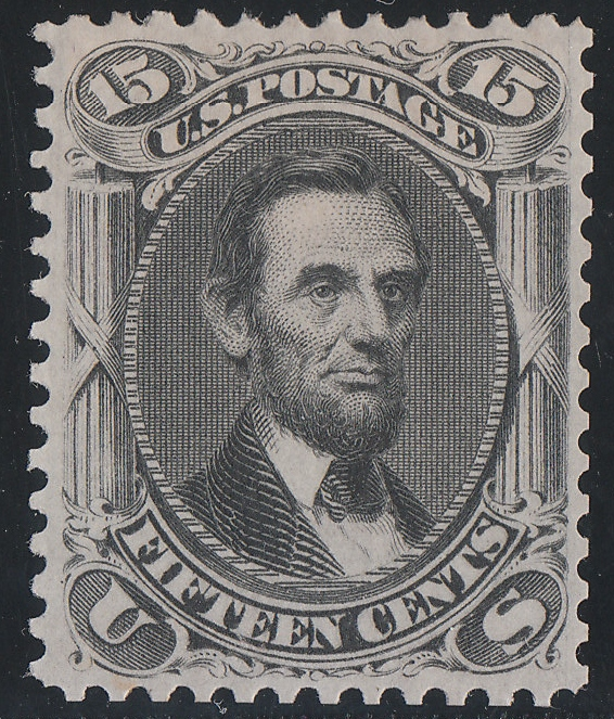 Original 15 Cent Lincoln Stamp