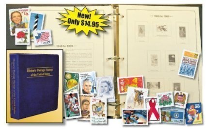 Mystic's US Stamp Collecting Kit
