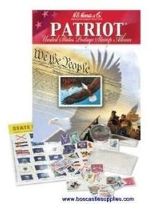 Patriot US Stamp Collecting Kit