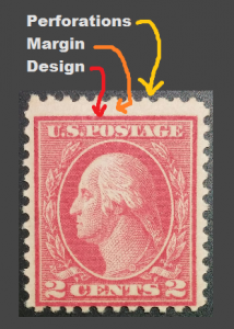 Parts of a Stamp