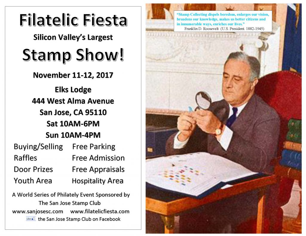Filatelic Fiesta Stamp Collecting Spot